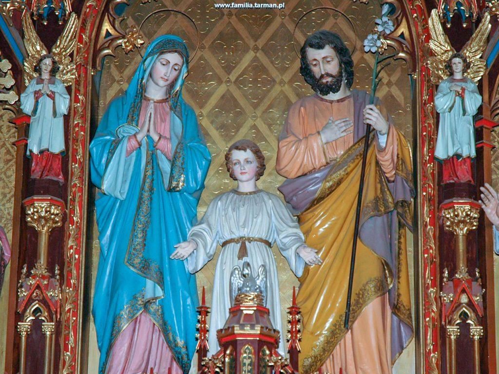 ołtarz św.Rodziny