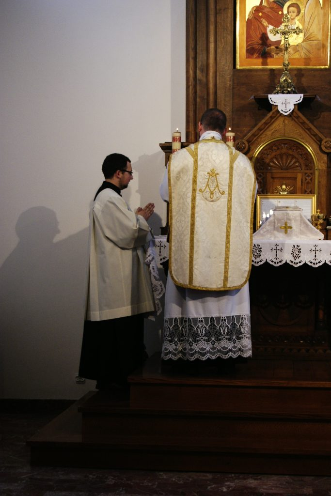 Initium sancti Evangélii secúndum Joánnem.